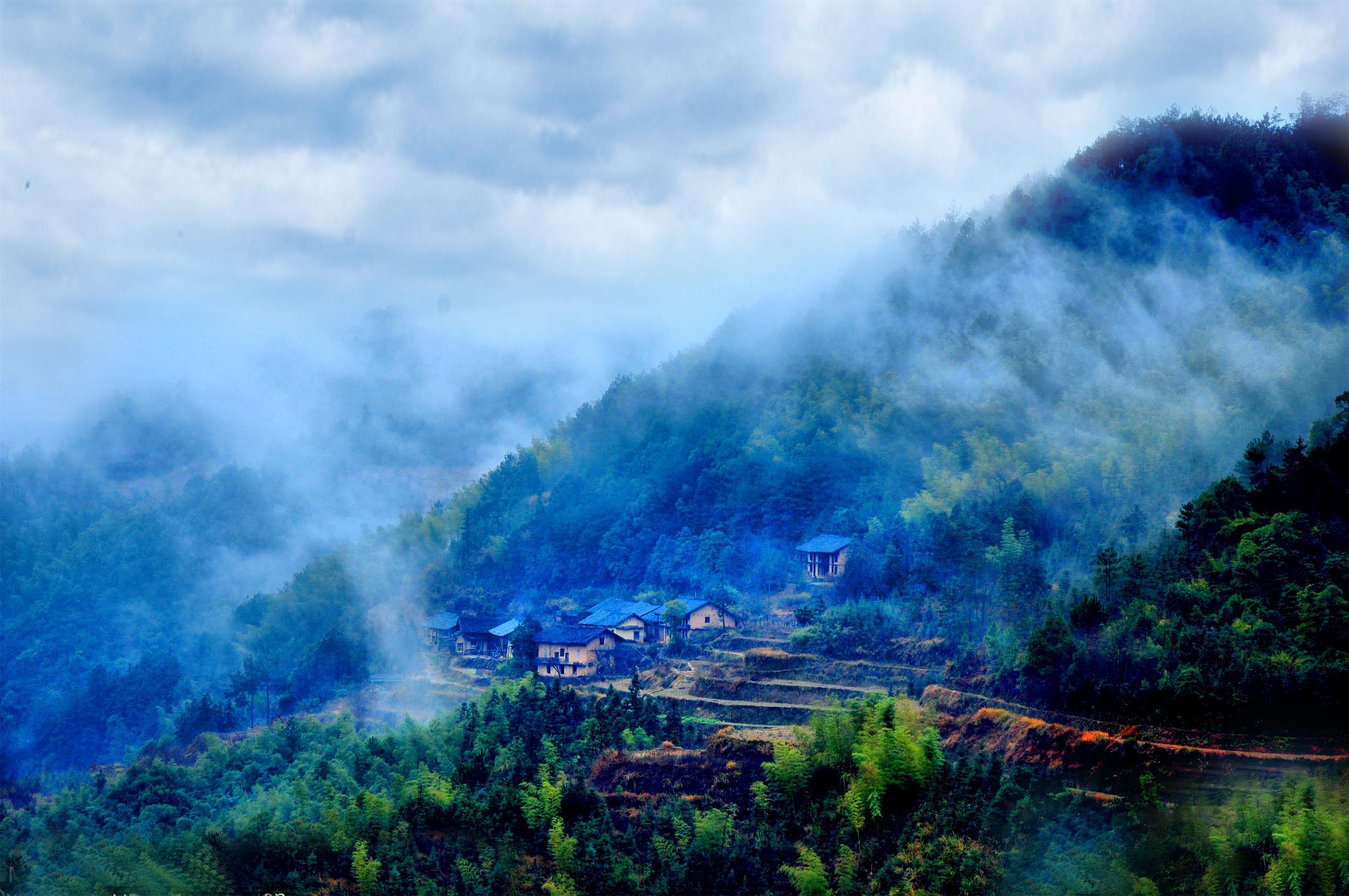 四明山美景